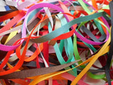 10 x 1 Metre Bundle of Grosgrain Ribbon - 6mm/7mm - Tying Ribbon,Craft,Trim