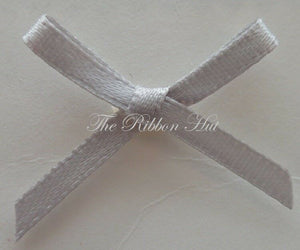 Satin Ribbon Bows 3mm, Packets 100, 28 Colours, Trimmings,Crafts,