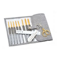 Tulip Etimo crochet hook set premium gold - 1pc