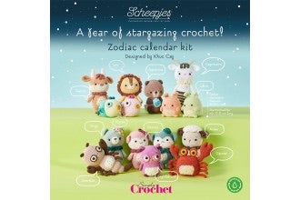 Scheepjes - Zodiac Calendar Kit (Yarn Pack)includes a bag of toy filling