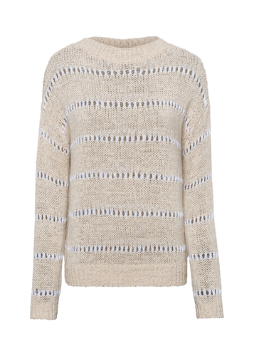 Riani Damen Strickpullover in Pale Almond 407900-008131