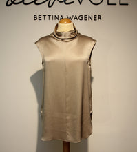 Laden Sie das Bild in den Galerie-Viewer, Antonelli Damen Bluse in champagner