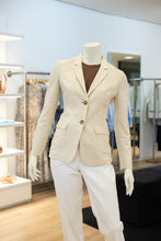 Laden Sie das Bild in den Galerie-Viewer, Peserico Damen Blazer in Beige/Vanille