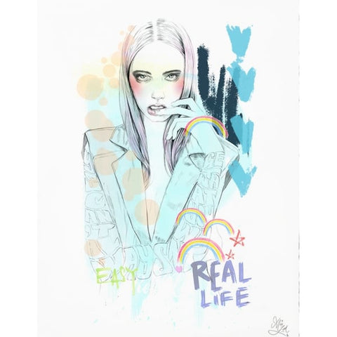 Real Life - Miss LED - Antidote Art