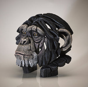 Chimpanzee Bust - Edge - Antidote Art - 1