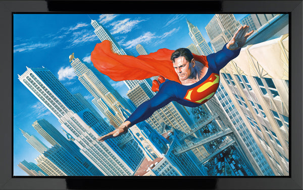Look! Up In The Sky! - Box Canvas - 2014 - Alex Ross - Antidote Art