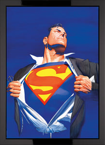 Superman Forever - Box Canvas - 2014 - Alex Ross - Antidote Art