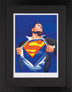 Superman Forever - Giclee Edition - 2014 - Alex Ross - Antidote Art