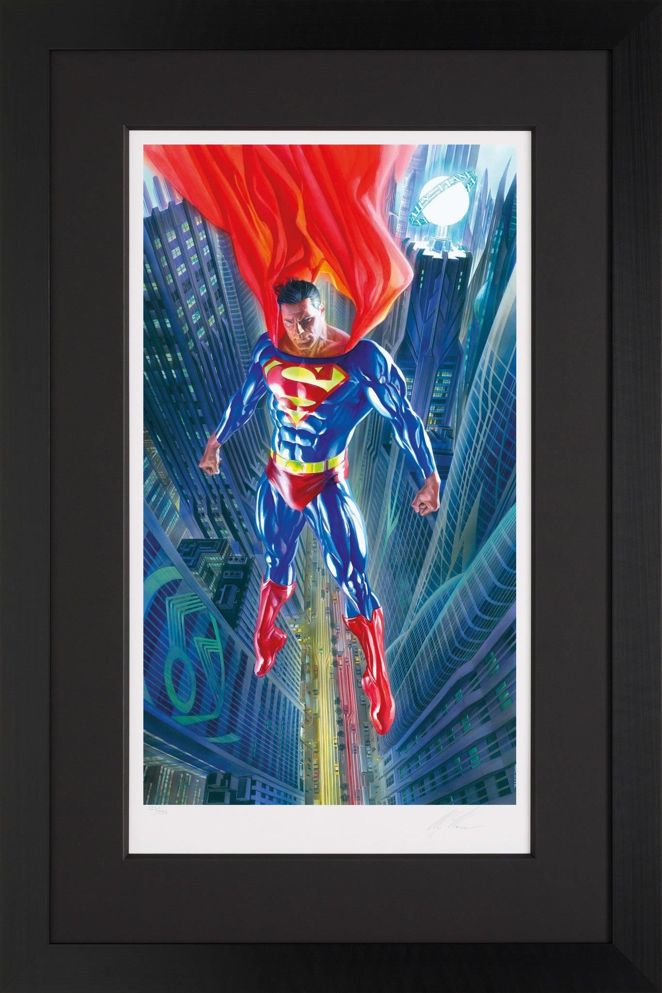 Superman: Man Of Tomorrow - Giclee Edition - 2014 - Alex Ross - Antidote Art