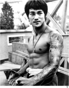 Bruce Lee Tattoo - JJ Adams