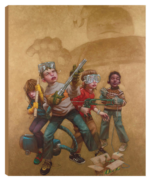Bustin' Makes Me Feel Good! - 2013 - Craig Davison - Low Availability, please check before ordering - Antidote Art - 2
