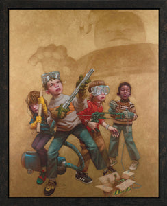 Bustin' Makes Me Feel Good! - 2013 - Craig Davison - Low Availability, please check before ordering - Antidote Art - 1