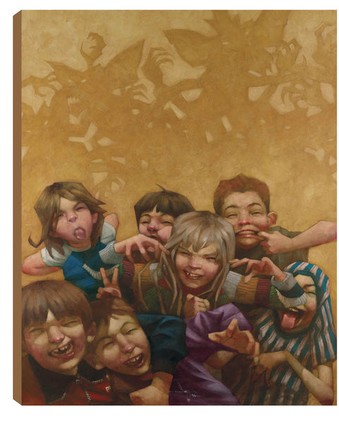 Never Feed Them After Midnight - Boxed Canvas - 2013 - Craig Davison - Antidote Art - 2