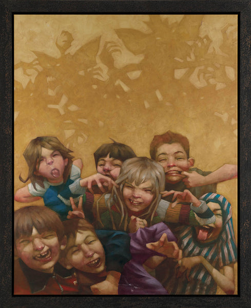 Never Feed Them After Midnight - Boxed Canvas - 2013 - Craig Davison - Antidote Art - 1