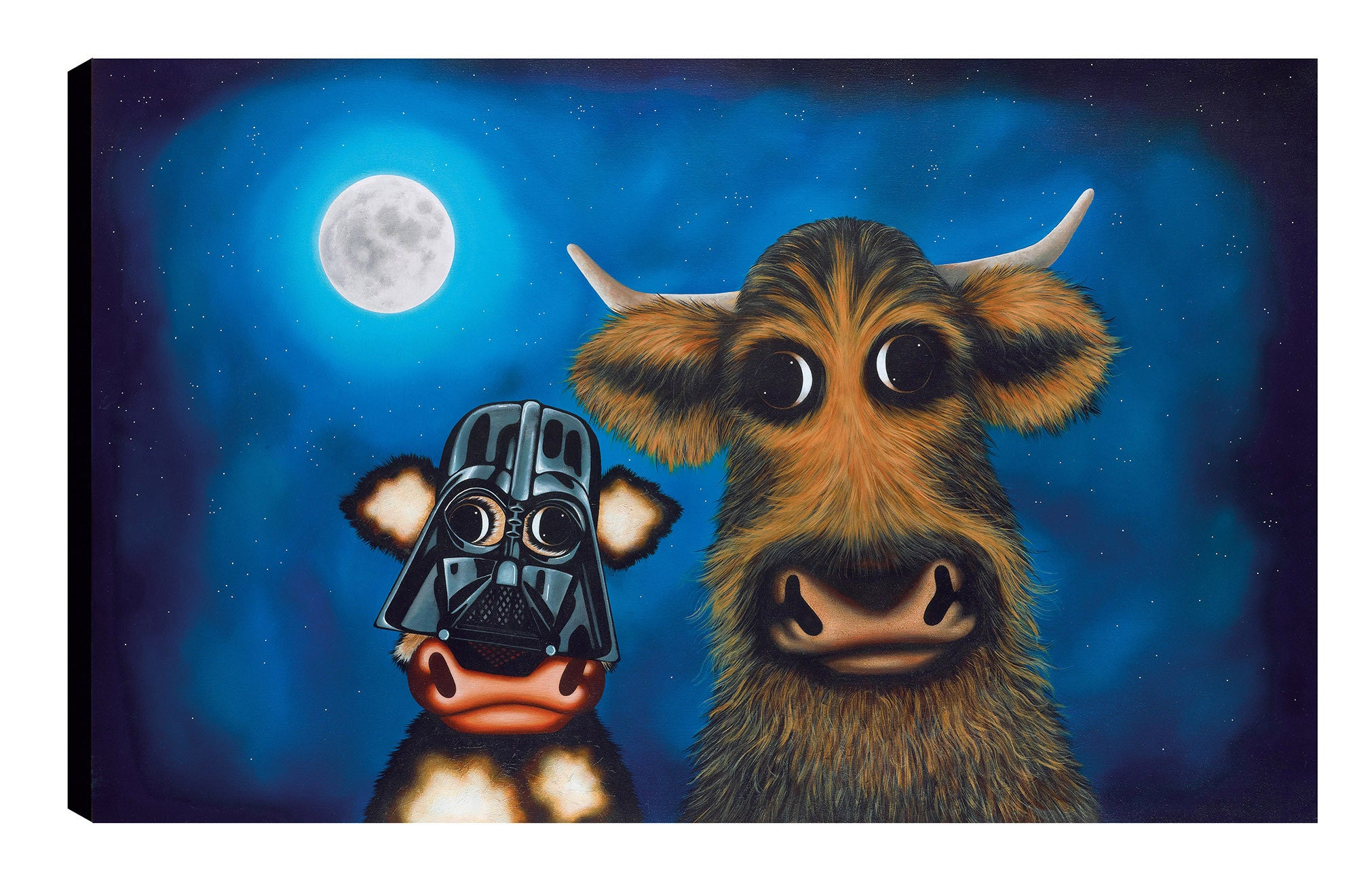 Calf Vader & Chewie the Cud - 2016 - Caroline Shotton - Antidote Art