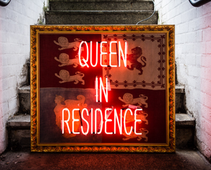 "Illuminati Neon - ""Queen in Residence"""