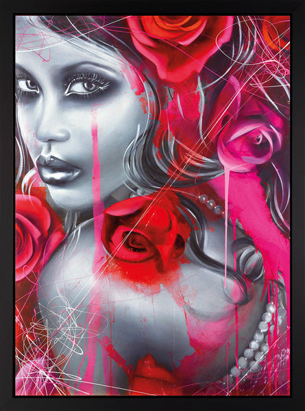 Crimson Enigma - 2015 - Emma Grzonkowski - Low Availability, please check before ordering - Antidote Art