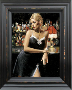 Fabian Perez - English Rose VII