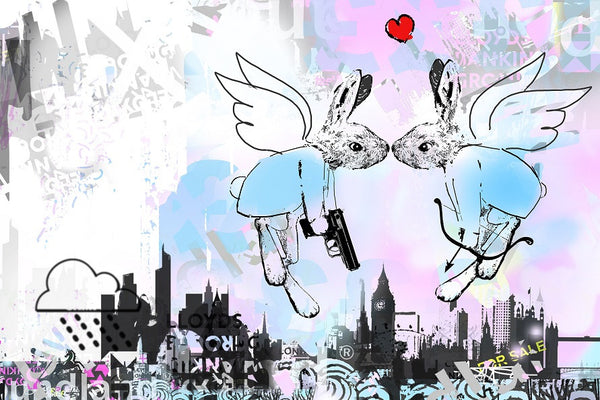 Love is in the Air London - 2015 - Harry Bunce - Antidote Art