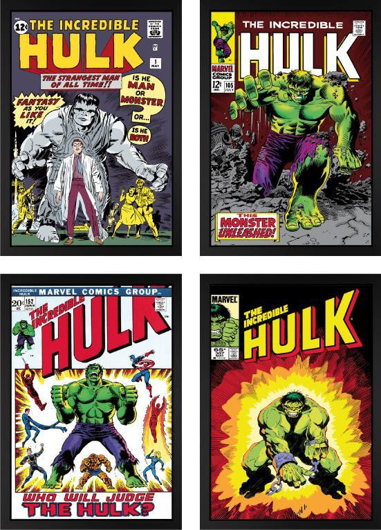 Incredible Hulk - Set Of Four - 2013 - Stan Lee - Marvel - Antidote Art
