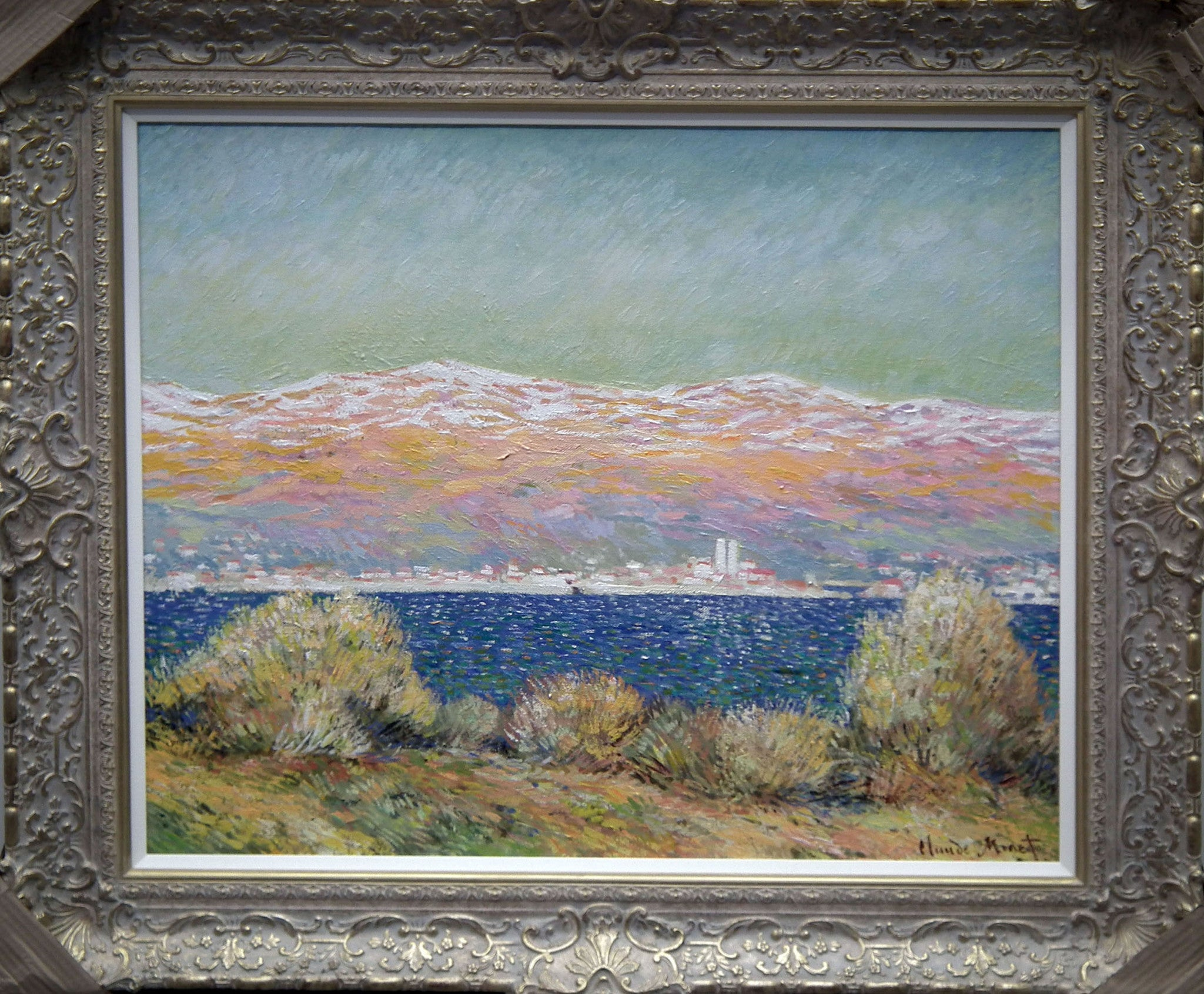 View of Antibes (Morning Effect) - 2013 - John Myatt - Antidote Art