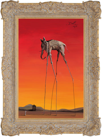 Elephant In The Style Of Salvador Dali, 1948 - 2015 - John Myatt - Antidote Art