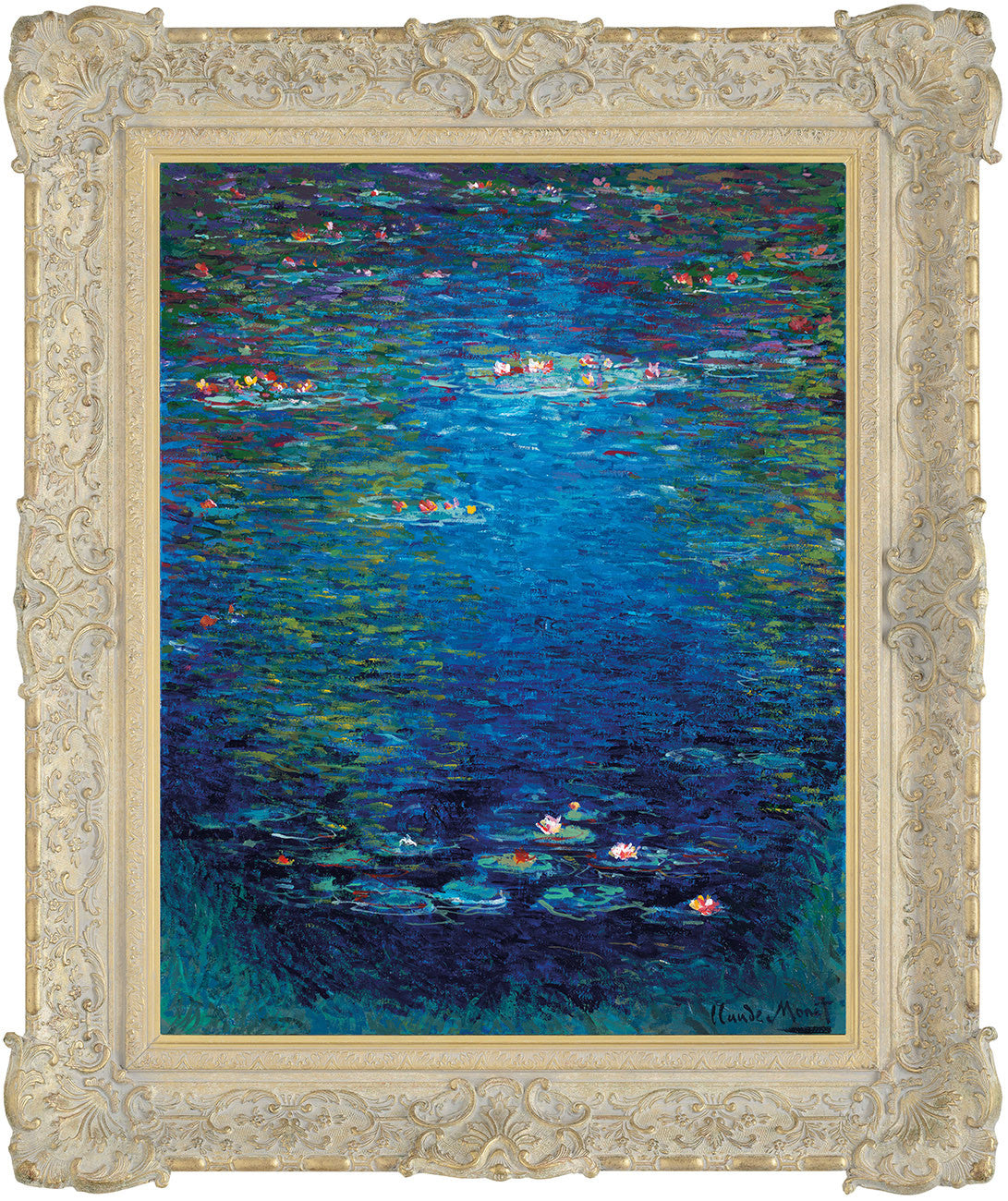 Nymphea In The Style Of Claude Monet, 1904 - 2015 - John Myatt - Antidote Art