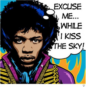 Jimi Hendrix Pop - JJ Adams