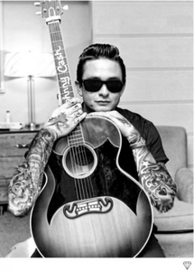 Johnny Cash Tattoo - JJ Adams