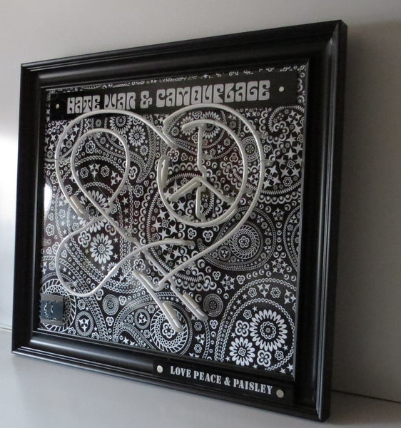 Love, Peace & Paisley - 2015 - Courty - Antidote Art - 2