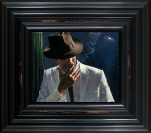Fabian Perez - Man in White Suit II