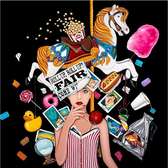 Fair Attraction - 2015 - Marie Louise Wrightson - Antidote Art - 1