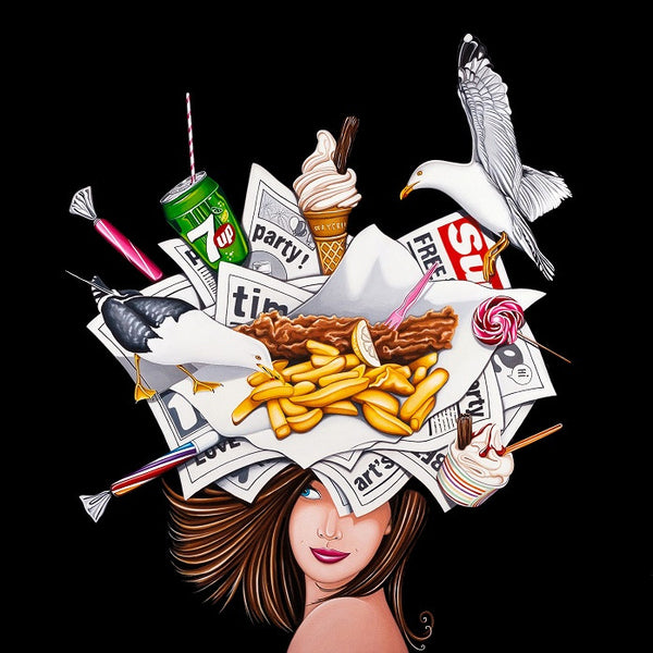 Fizz & Chips - 2015 - Marie Louise Wrightson - Antidote Art - 1