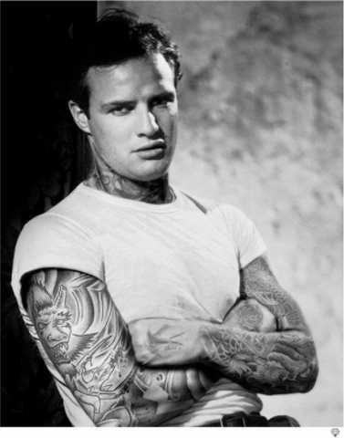 Marlon Brando Tattoo - JJ Adams
