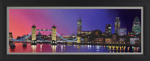 Nightfall, Tower Bridge - 2014 - Neil Dawson - Antidote Art