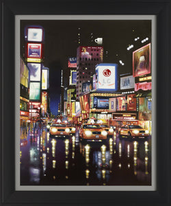 Yellow Cabs, Times Square - 2014 - Neil Dawson - Antidote Art