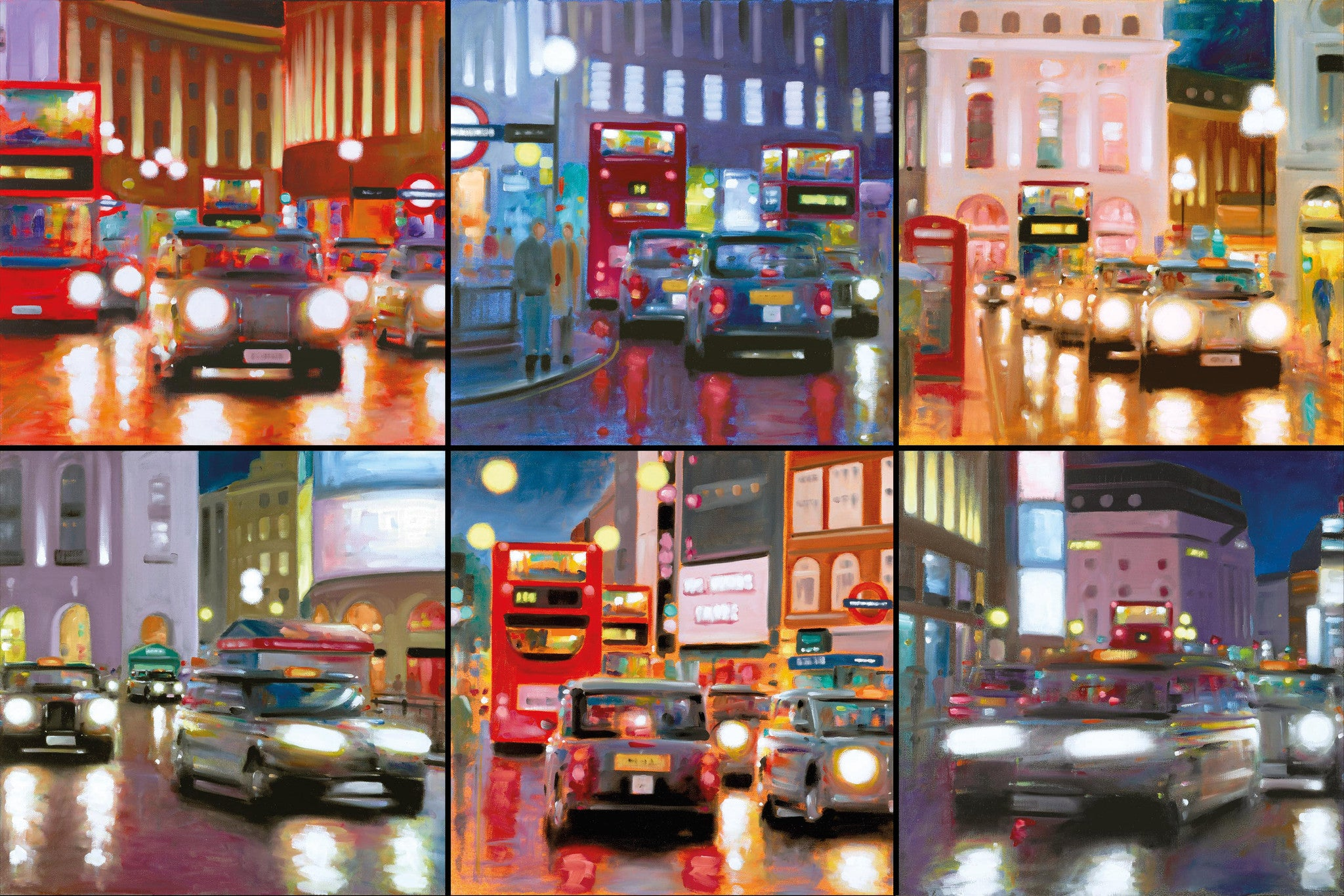 Night Time In The City - 2015 - Neil Dawson - Antidote Art