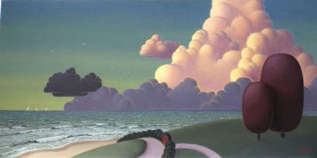Clouds Lit By The Setting Sun - Paul Corfield - Original - Antidote Art