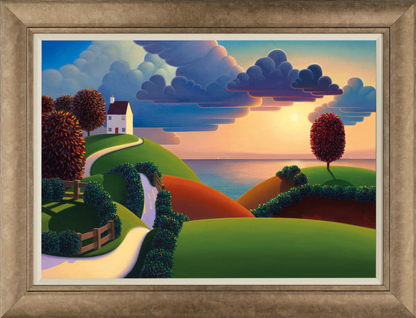 Clouds Over The Sea - 2015 - Paul Corfield - Antidote Art