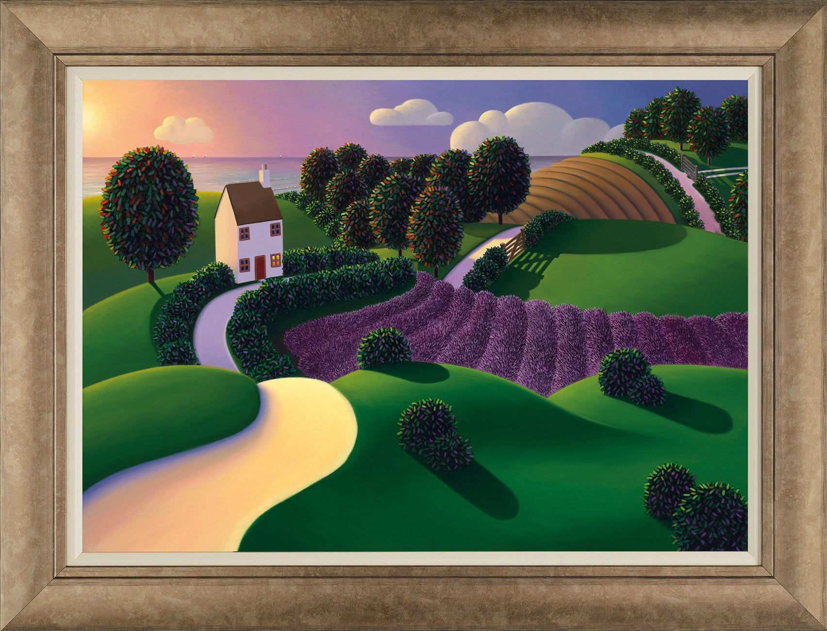 Lavender Sunset - 2015 - Paul Corfield - Antidote Art