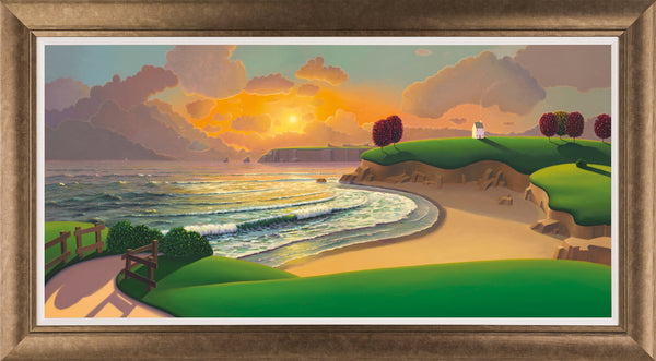 Sunset At Middle Beach - 2015 - Paul Corfield - Antidote Art