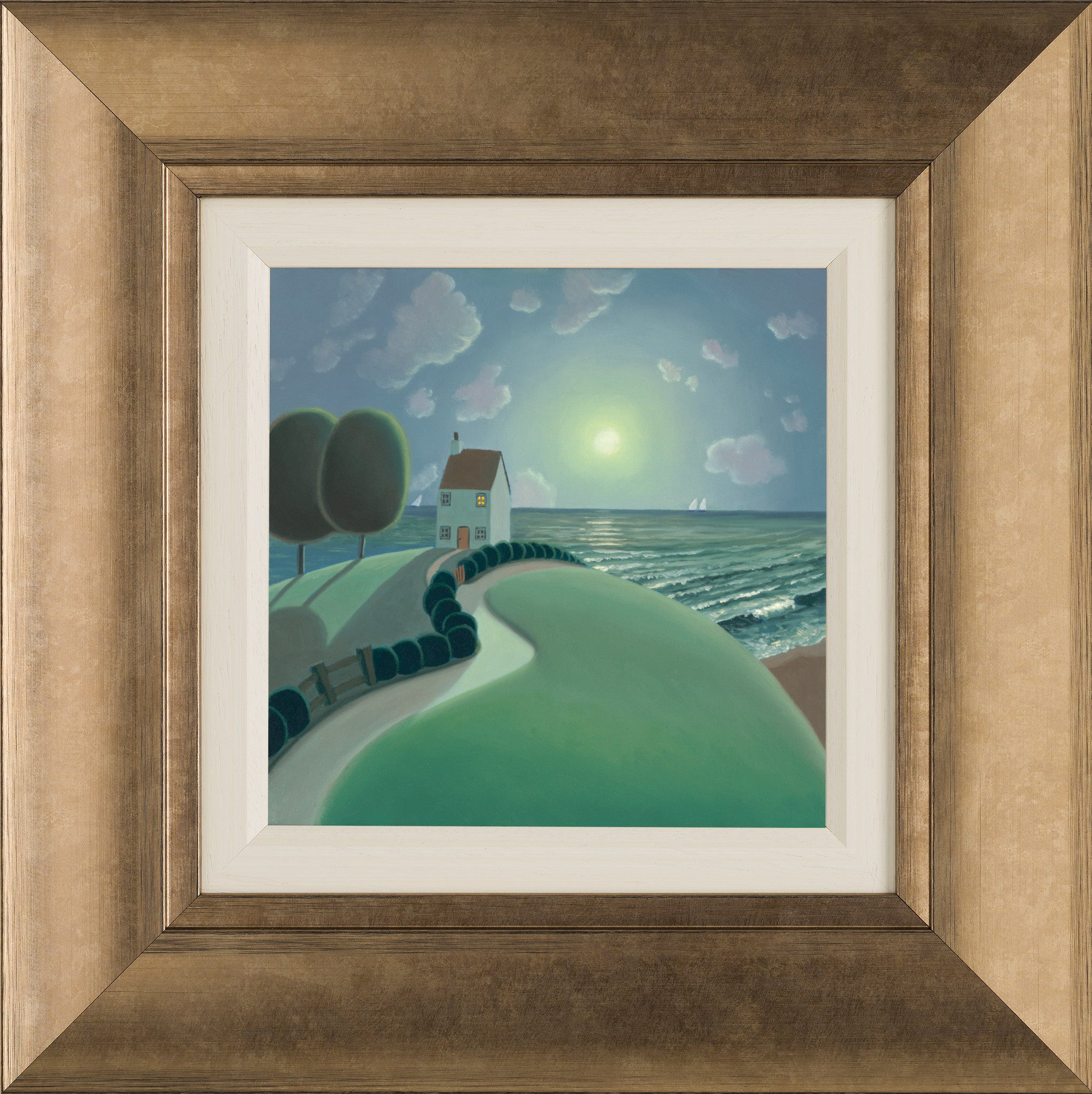 House By The Sea - 2014 - Paul Corfield - Sold Out - Antidote Art
