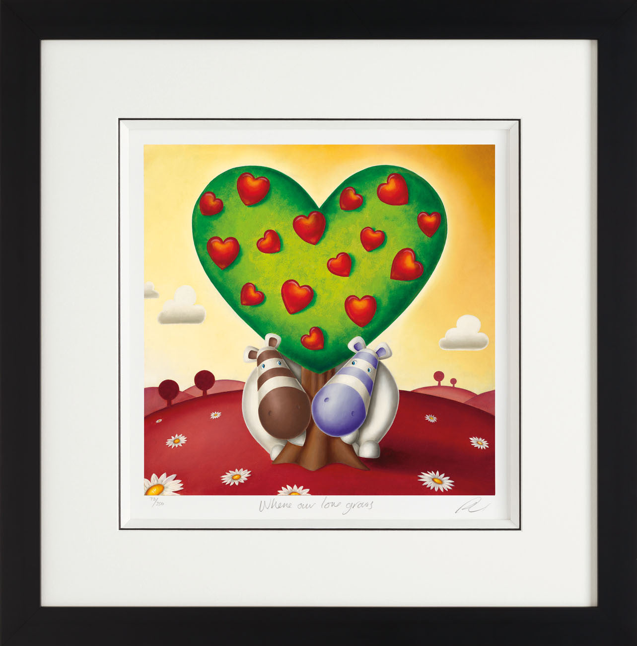 Where Our Love Grows - Giclee On Paper - 2013 - Peter Smith - Antidote Art