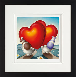 From The Moment We Met - Giclee On Paper - 2013 - Peter Smith - Antidote Art