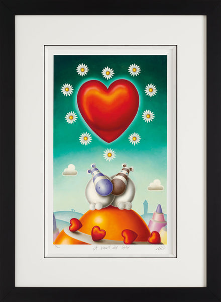 It Must Be Love - Giclee On Paper - 2013 - Peter Smith - Antidote Art