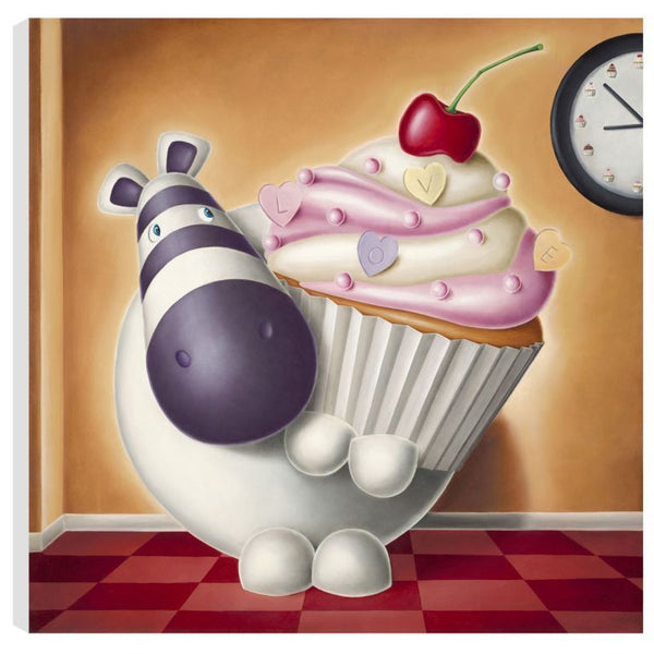 Cake O'Clock - Boxed Canvas - 2013 - Peter Smith - Antidote Art