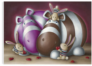 Meet The Family - Boxed Canvas - 2013 - Peter Smith - Antidote Art