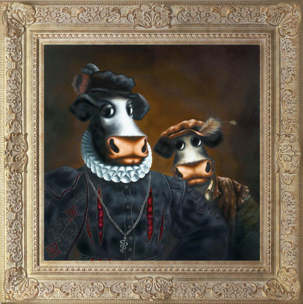 Black Udder & Bulldrick - 2012 - Caroline Shotton - Antidote Art