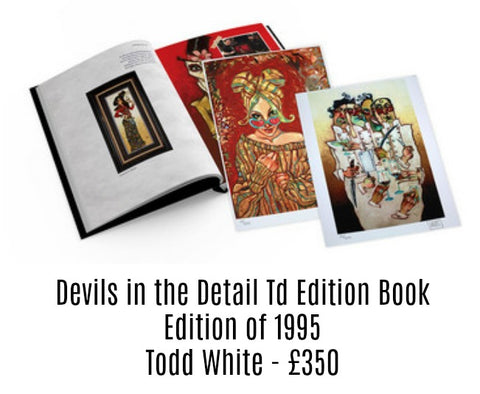 Devils in the detail ltd edition Book - Todd White