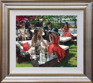 Deluxe Champagne Bollinger Afternoon - 2016 - Sherree Valentine Daines - Antidote Art